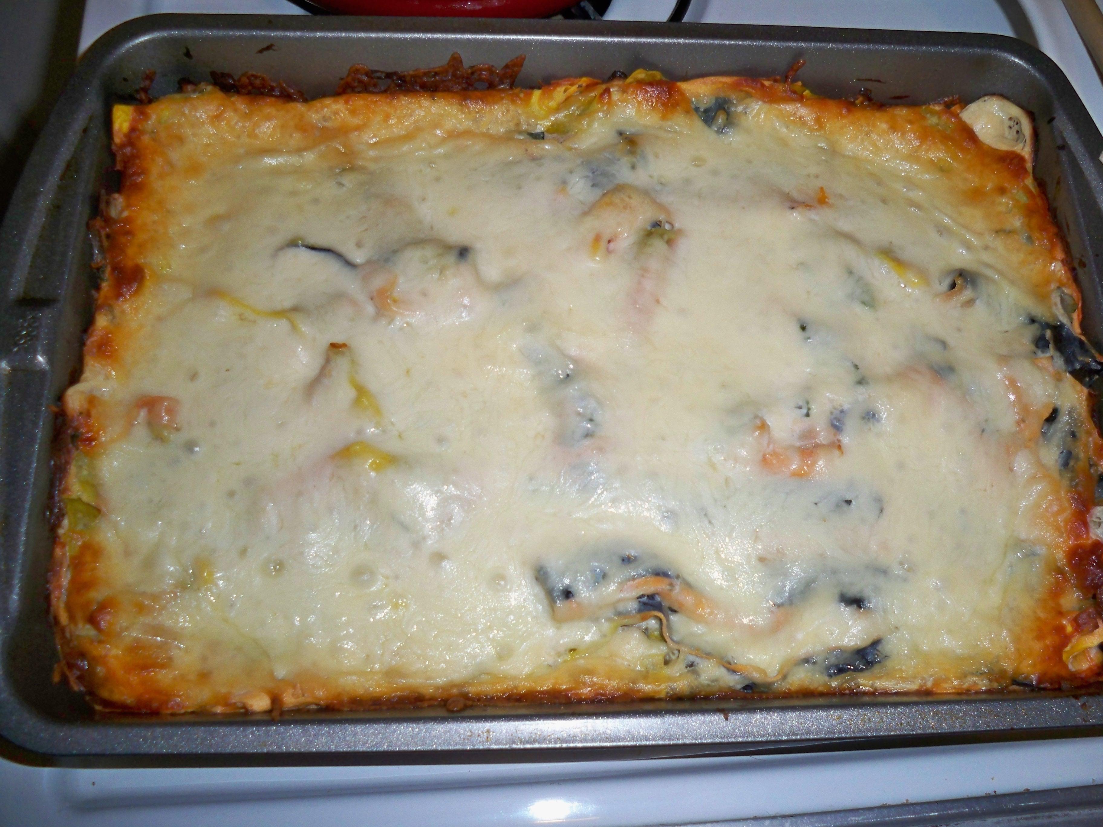 Garlic My Soul • Funky Artichoke Lasagna