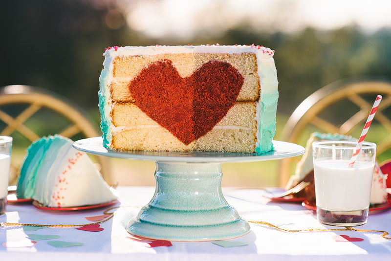 Garlic My Soul | Make Your Own Heart Cake