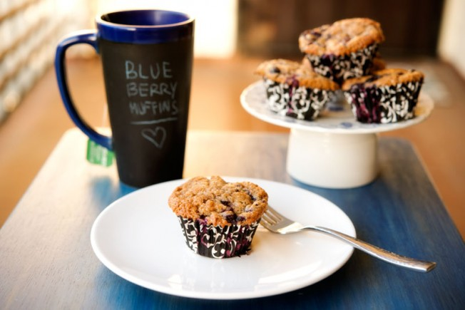 Blueberry Muffins | Garlic, My Soul