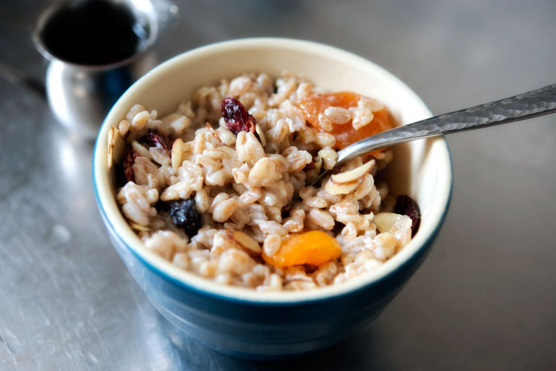 Farro Porridge | Garlic, My Soul