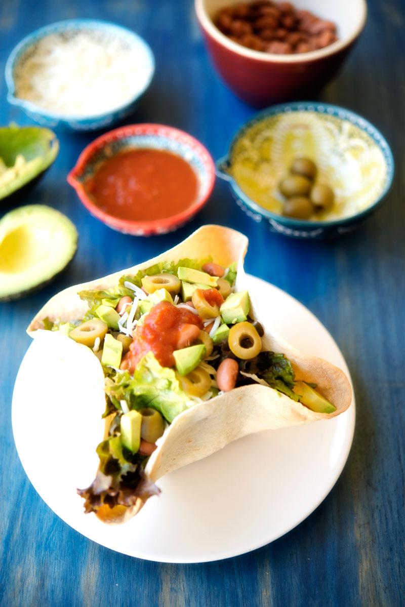 Homemade Taco Bowls   Garlic, My Soul