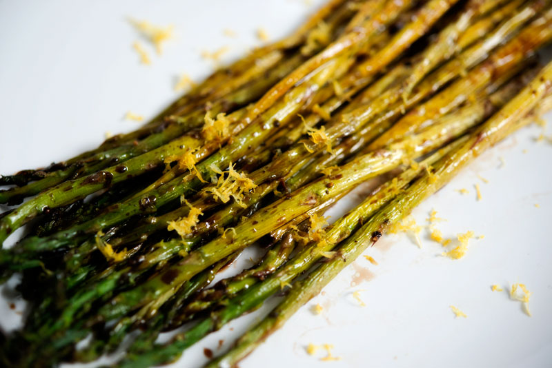 Asparagus Season | Garlic, My Soul