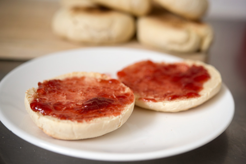 Homemade English Muffins | Garlic, My Soul