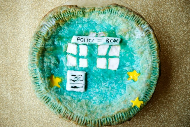 Dr. Who Tardis Pie | Garlic, My Soul