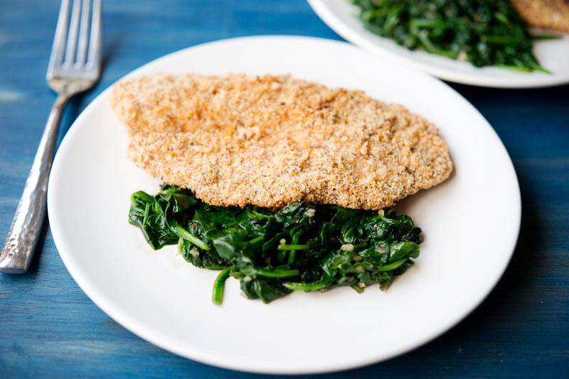 Paleo Friendly Breaded Fish | Garlic, My Soul