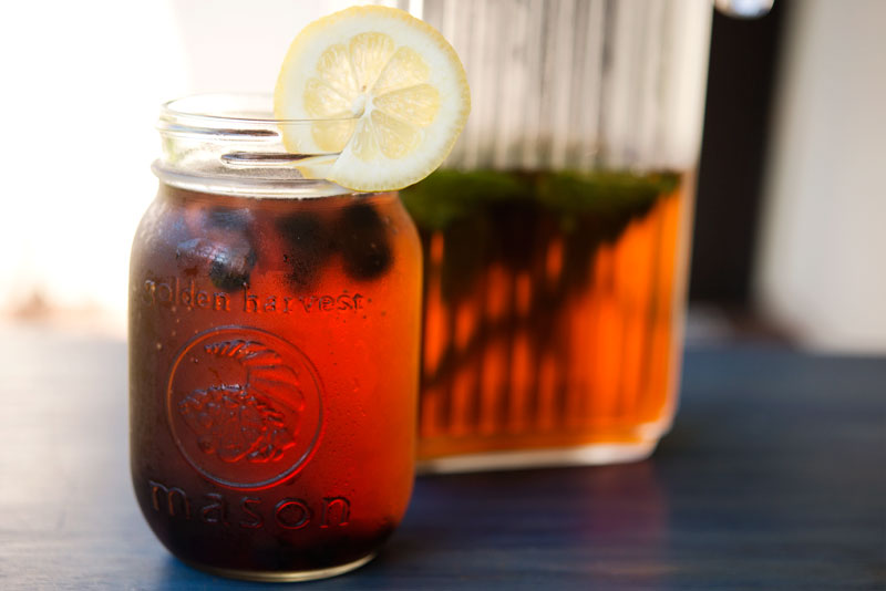 Sun Tea with Lemon | Garlic, My Soul