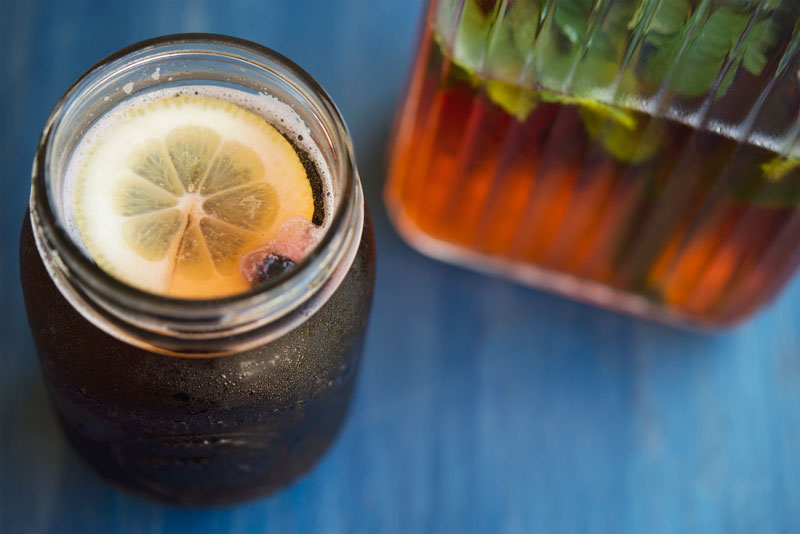 Sun Tea with Lemon | Garlic, My Soul