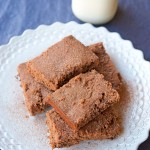 I'm Back! With Peanut Butter Pumpkin Ale Brownies!