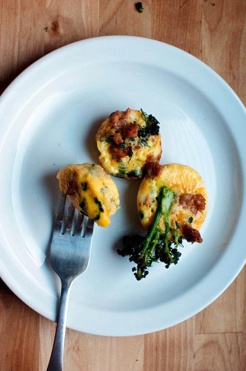 Garlic My Soul | Muffin Tin Eggs