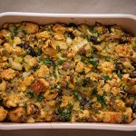 Cinnamon Pear and Fennel Cornbread Stuffing