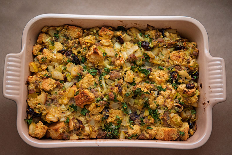 Garlic My Soul | Pear Fennel Stuffing