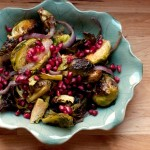 Thanksgiving Thursday: Spice Roasted Brussels Sprouts