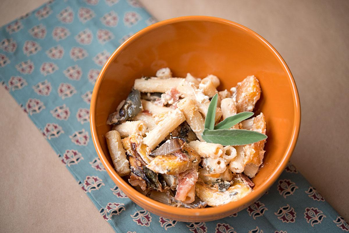 Gluten Free Pumpkin Pasta | Garlic, My Soul