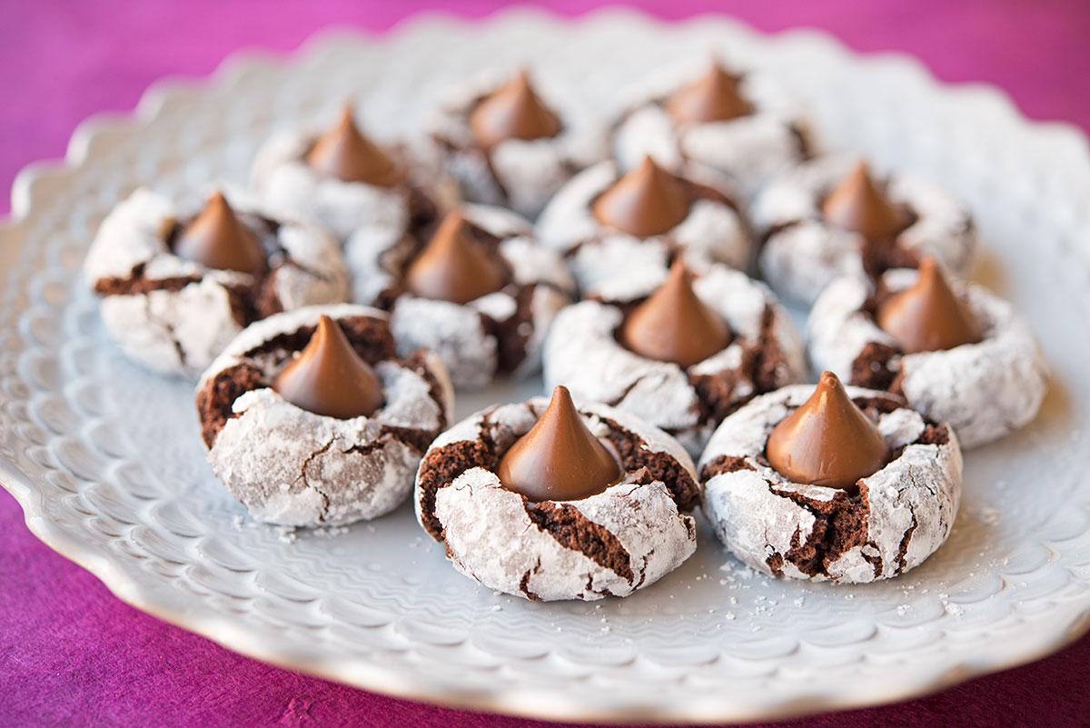 Chocolate Pixie Cookies   Garlic, My Soul