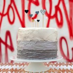 Black Heart (Inside) a Cake