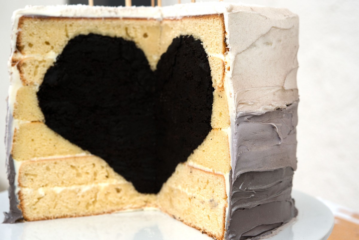 Black Heart Cake | Garlic, My Soul