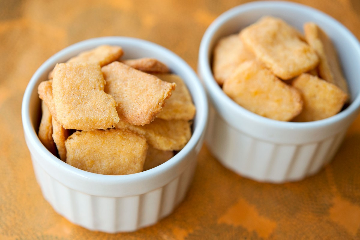 Gluten Free Cheese Its | Garlic, My Soul