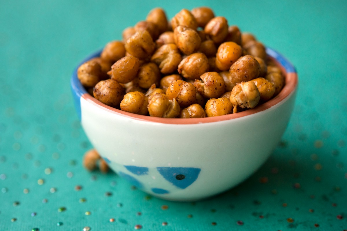 Roasted Chick Peas | Garlic, My Soul