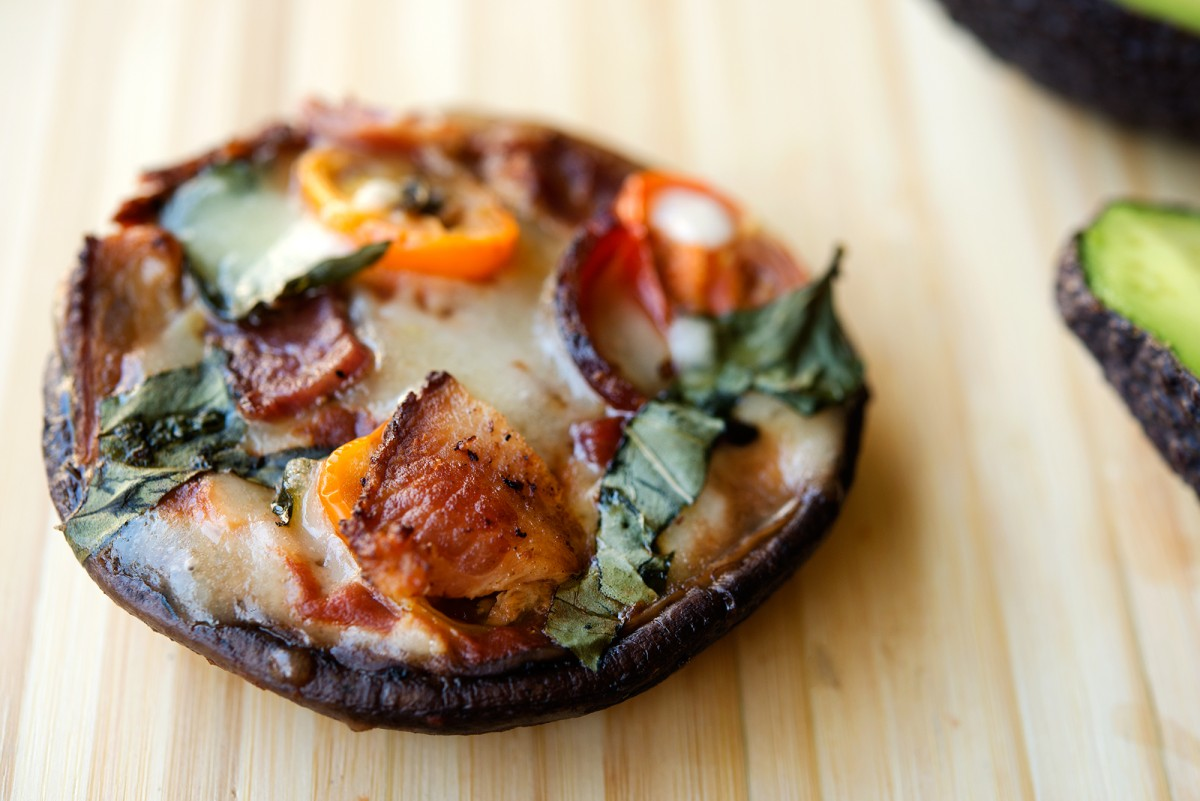 Portobello Mushroom Pizza | Garlic, My Soul