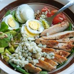 Leftover Easter Eggs: Cobb Salad