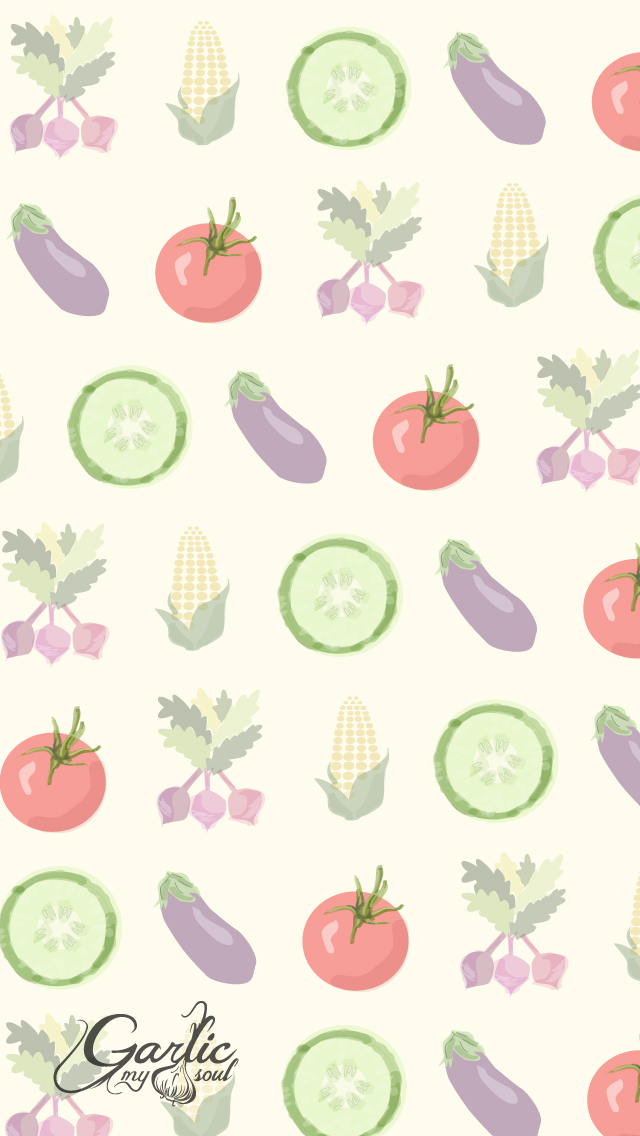 iPhone Background | August | Garlic, My Soul