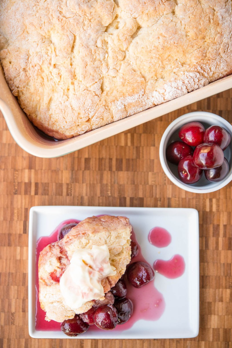 Sweet Cherry Cobbler | Garlic, My Soul
