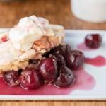 Sweet Cherry Cobbler Recipe