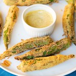 Fried Whole Okra