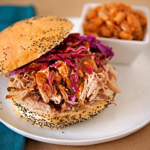 Carolina Style Pulled Pork BBQ