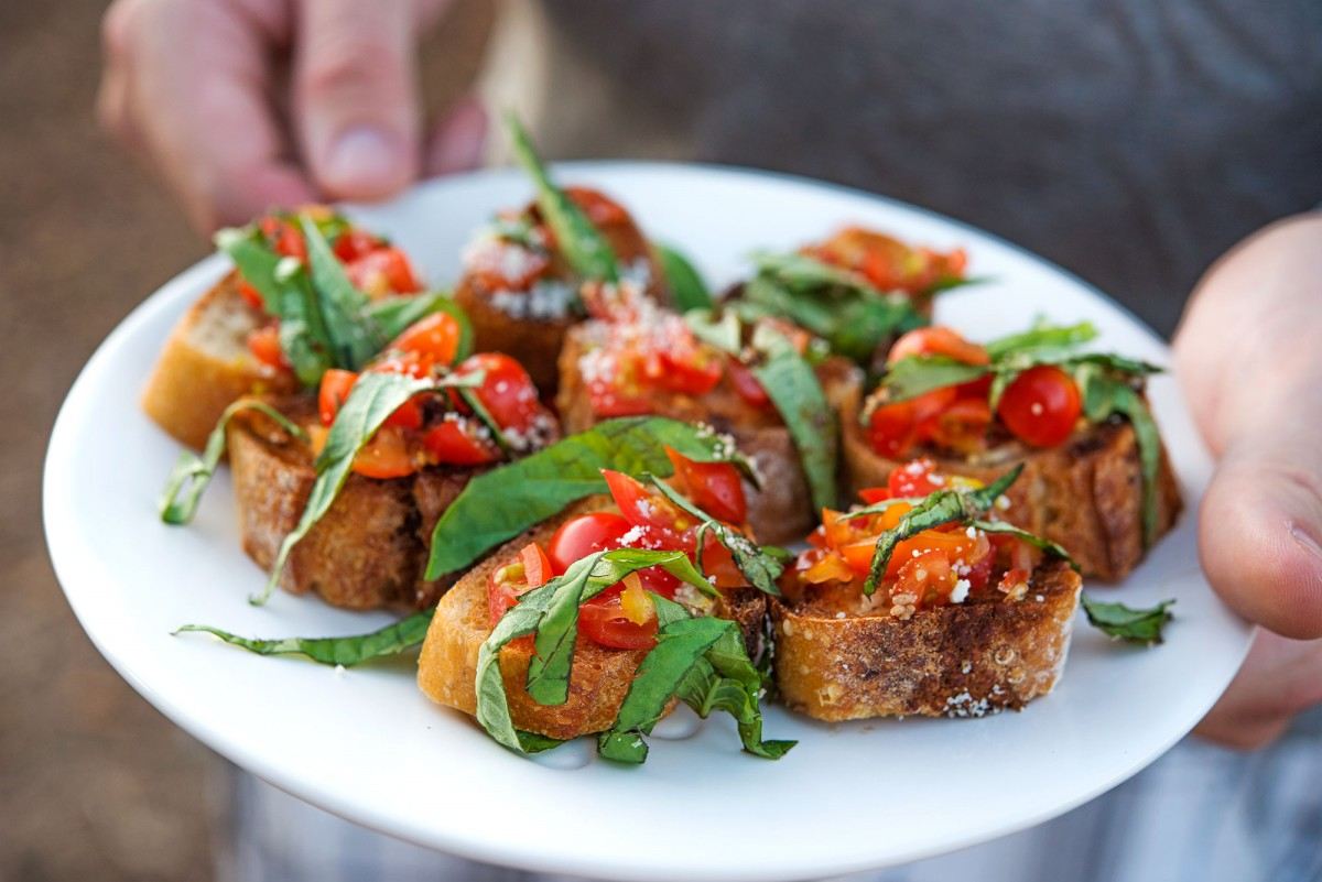 Jeff's Bruschetta | Garlic, My Soul