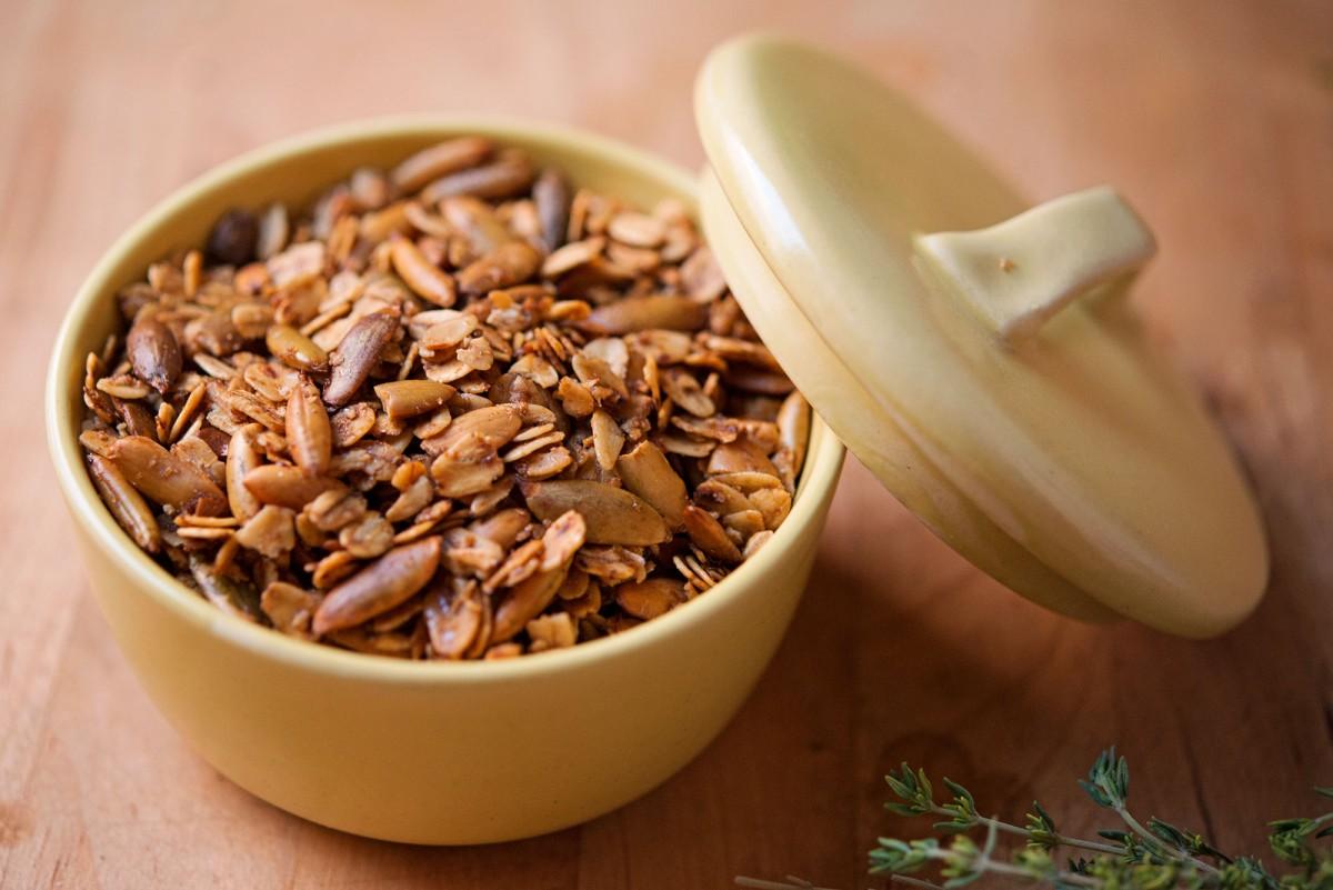 Toasted Oat & Pepitas | Garlic, My Soul