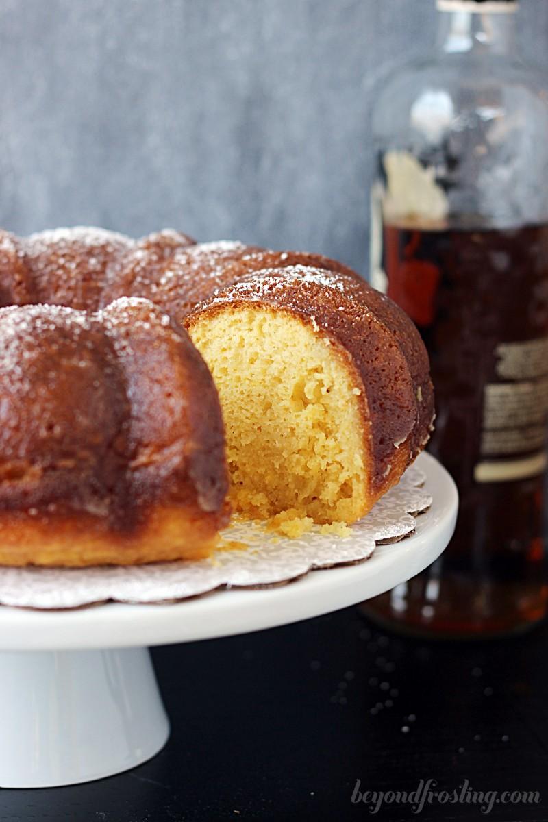 Rachel's Rum Cake | Beyond Frosting for GMS