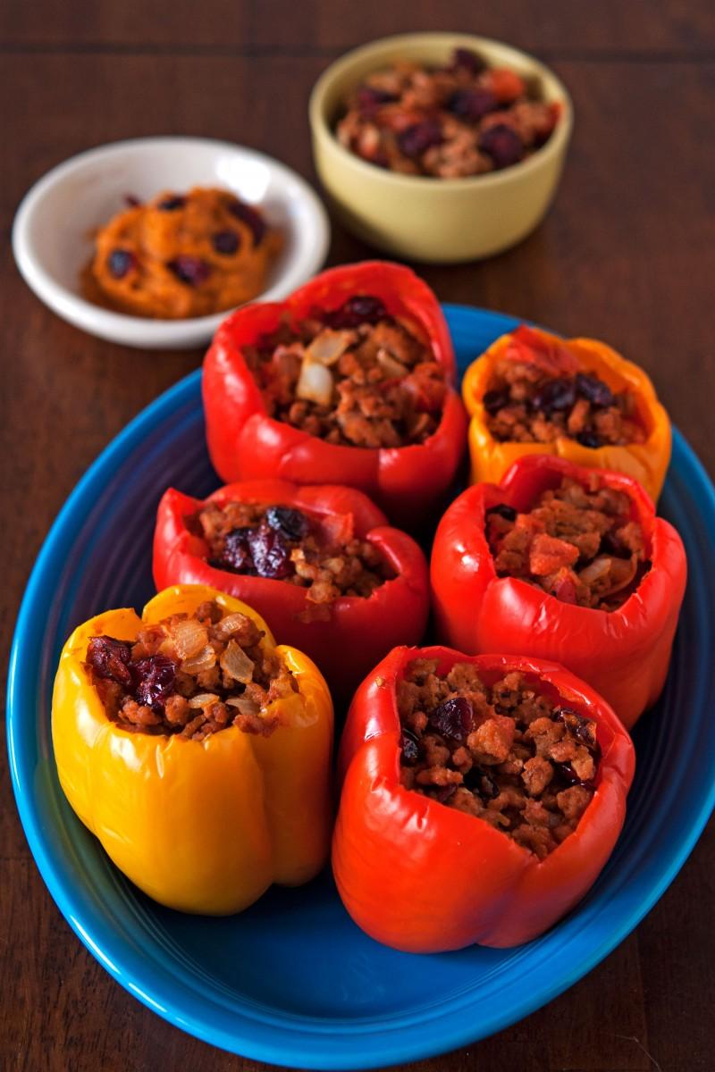 Paleo Stuffed Peppers | Garlic, My Soul