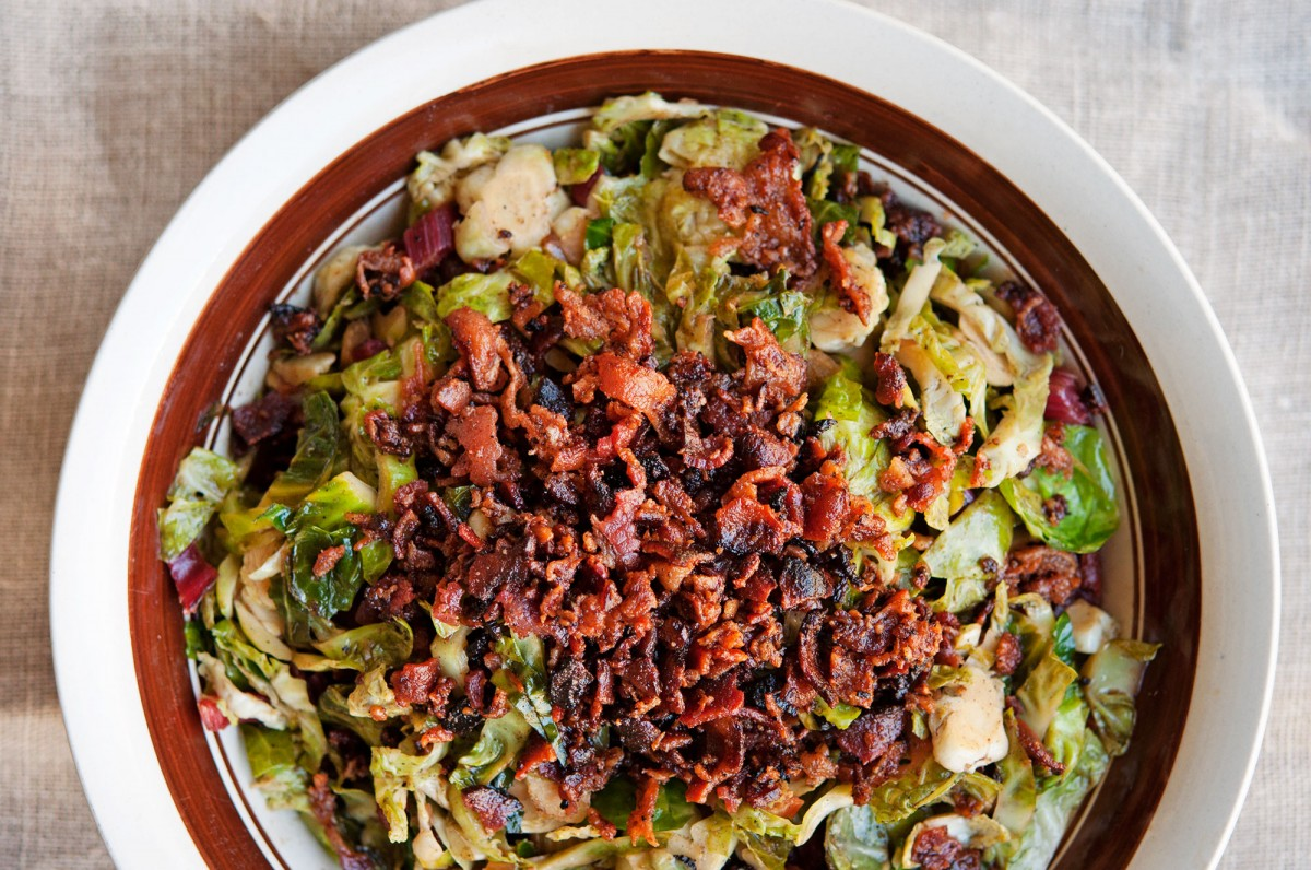 Brussels Sprout Hash | Garlic, My Soul