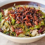 Brussels Sprout Hash with Bacon Recipe