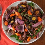 Roasted Carrot & Quinoa Salad Recipe