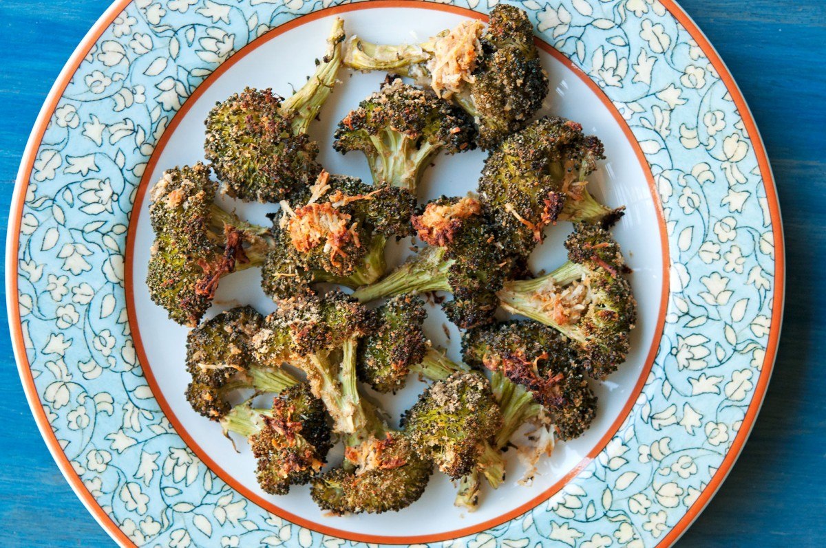 Roasted Parmesan Lemon Broccoli | Garlic, My Soul