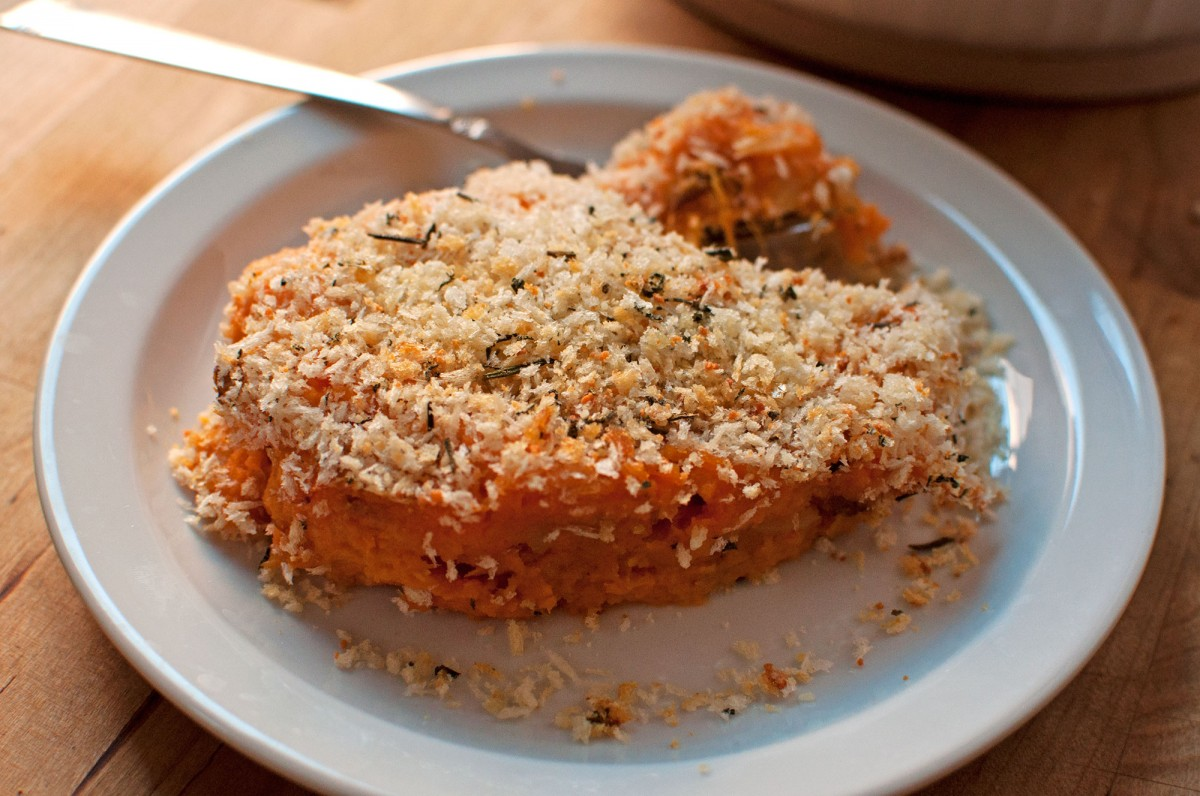Herb Crusted Fall Veggie Mash | Garlic, My Soul