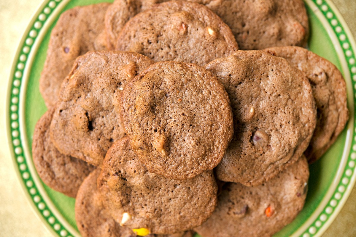 Chocolate Three-Chip Cookies | Garlic, My Soul