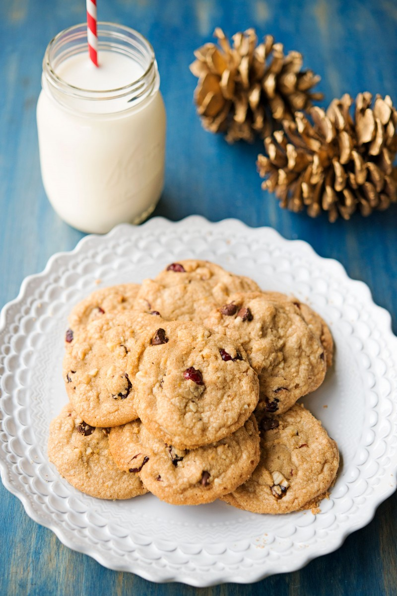Cranberry Walnut Cookies | Garlic, My Soul