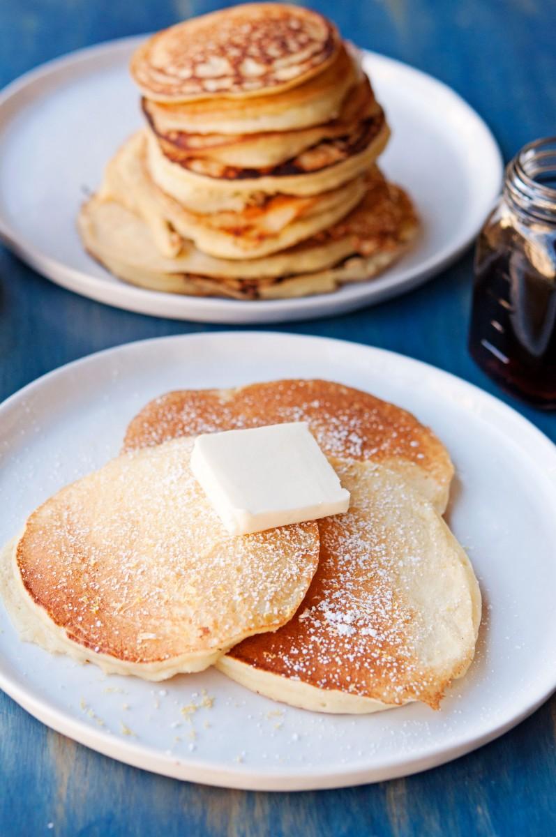 Lemon Ricotta Pancakes   Garlic, My Soul