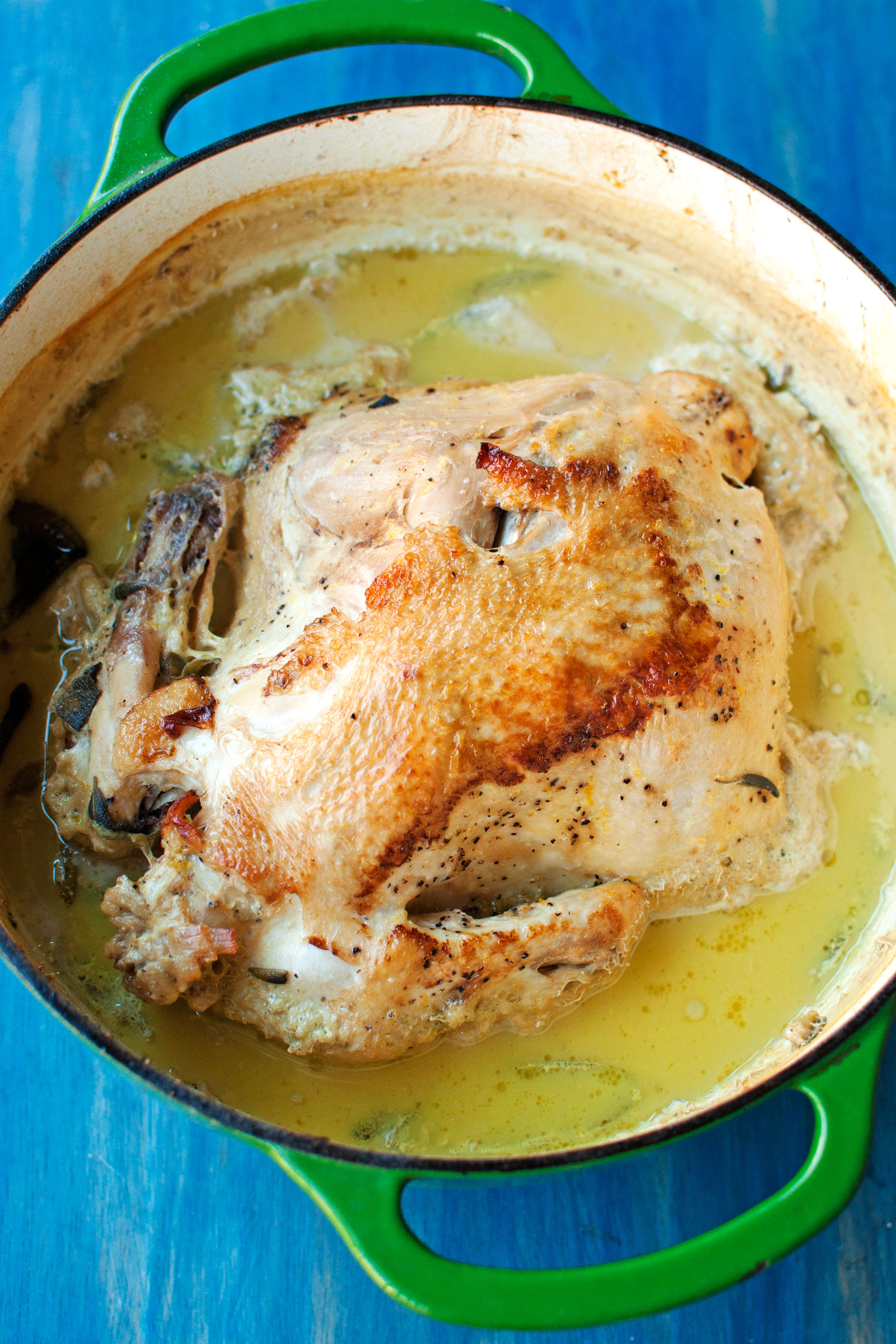 Baked Chicken With Cinnamon Butter Recipe — Dishmaps