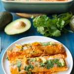Weeknight Chicken Enchiladas