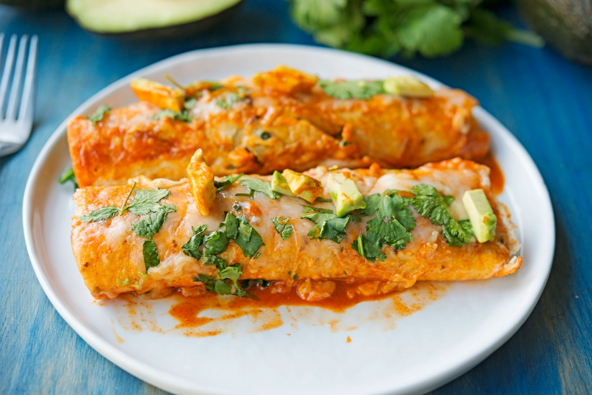 Chicken Enchiladas | Garlic, My Soul