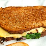 Grilled Cheese Week: Caramelized Onions + Gouda
