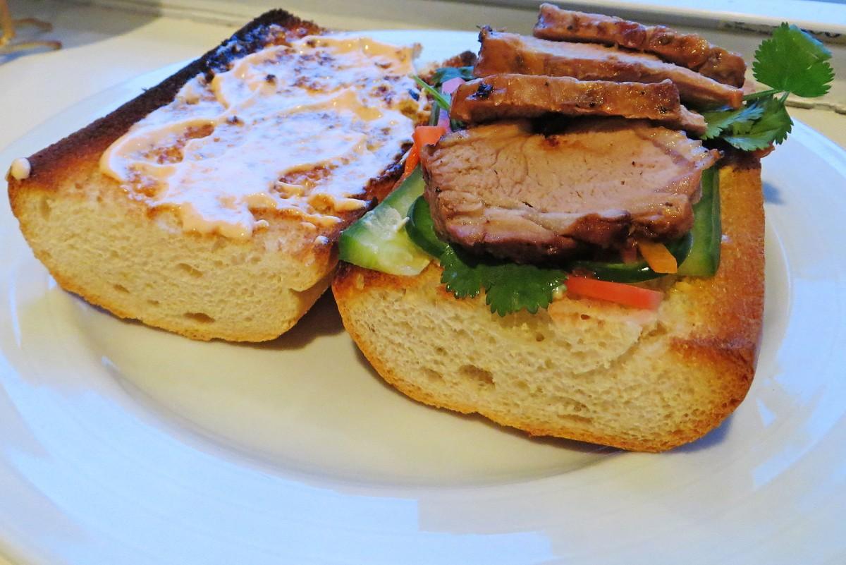 Bahn-mi Sandwiches | Garlic, My Soul