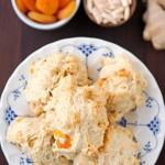 Zou Zou's Apricot Almond Scones