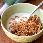 Maple Bacon (Gluten Free) Granola for Fall