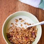 Gluten Free Maple Bacon Granola