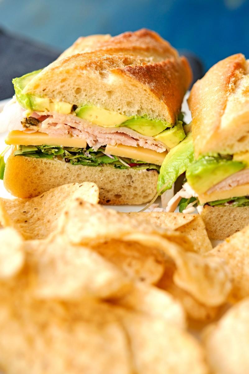 Perfect Turkey Sandwich | Garlic, My Soul